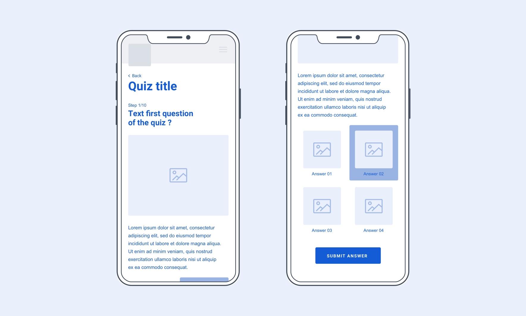 Erebor nestlé component mobile quiz